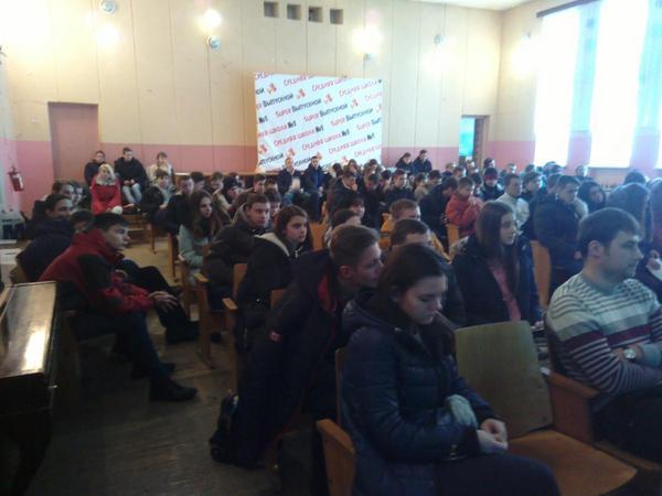 Преподаватели ГГТУ им. П.О. Сухого побывали в гостях у выпускников школ г.Калинковичи